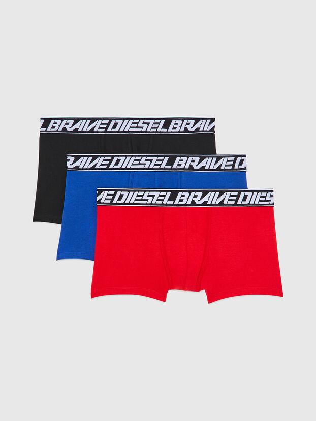 UMBX-DAMIENTHREEPACK, Rot/Blau - Boxershorts
