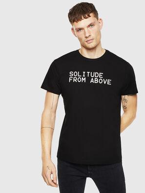 T-DIEGO-J13, Schwarz - T-Shirts