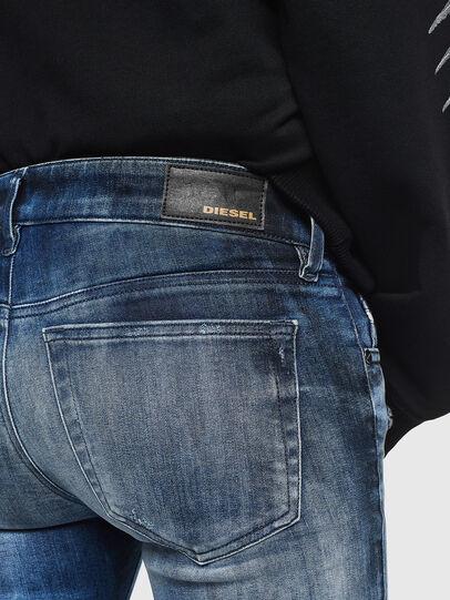 Diesel - Slandy Low 0095C, Mittelblau - Jeans - Image 4