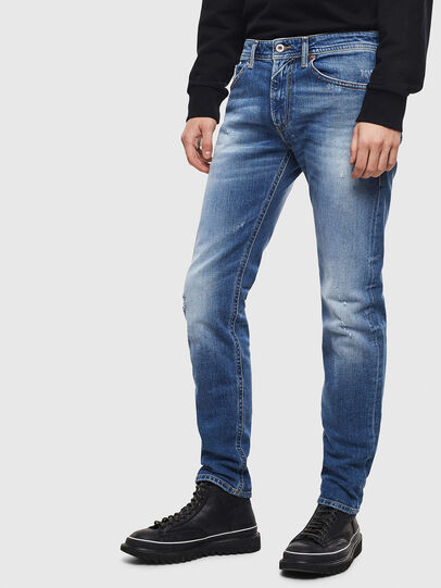 Diesel - Thommer 0096D, Hellblau - Jeans - Image 4
