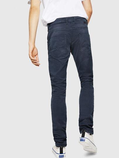 Diesel - Krooley Long JoggJeans 0670M, Dunkelblau - Jeans - Image 2