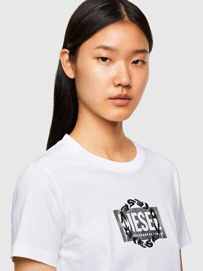 Diesel - T-SILY-R5, Weiß - T-Shirts - Image 3