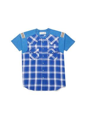 D-WESTERNSPORT, Hellblau - T-Shirts