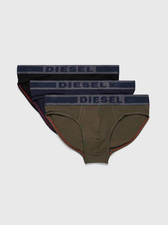 Diesel - UMBR-ANDRETHREEPACK, Bunt/Schwarz - Slips - Image 1