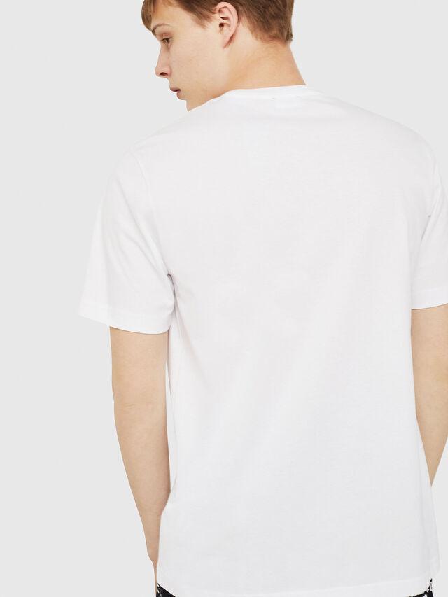 Diesel - T-JUST-Y16, Weiß - T-Shirts - Image 2