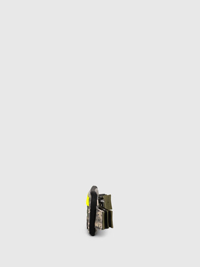 Diesel - BELT RUBBER CASE BIG, Camouflagegrün - Continental Portemonnaies - Image 3