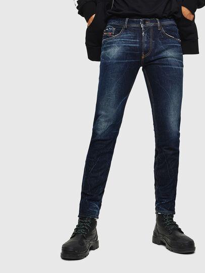 Diesel - Thommer 0097H, Dunkelblau - Jeans - Image 1