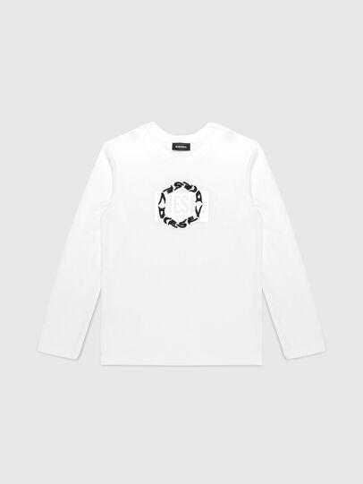 Diesel - TSILYRSUC ML, Weiß - T-Shirts und Tops - Image 1