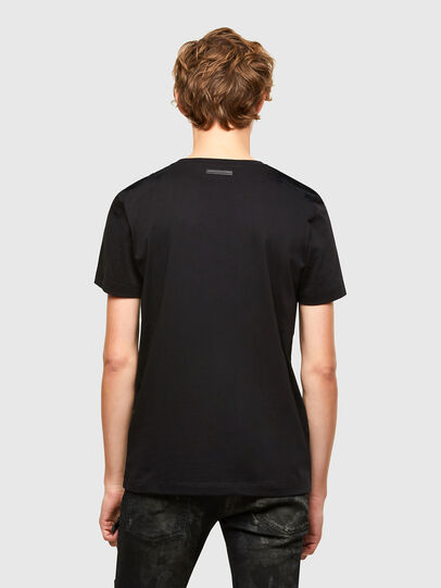Diesel - T-IEGO-A, Schwarz - T-Shirts - Image 2