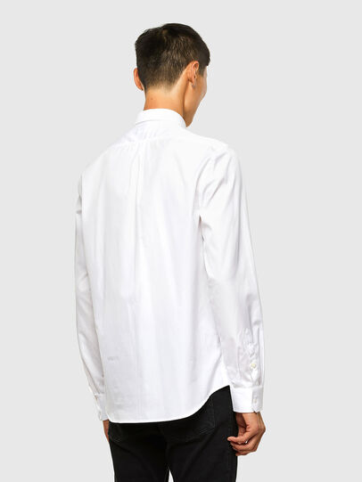 Diesel - S-WEIR, Weiß - Hemden - Image 2