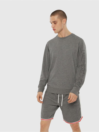Diesel - UMLT-WILLY, Grau - Sweatshirts - Image 1