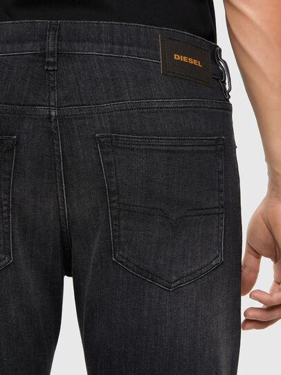 Diesel - D-Luster 009EN, Schwarz/Dunkelgrau - Jeans - Image 4