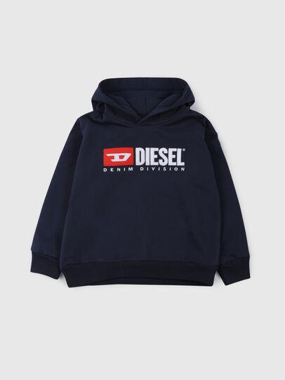 Diesel - SDIVISION OVER, Mitternachtsblau - Sweatshirts - Image 1
