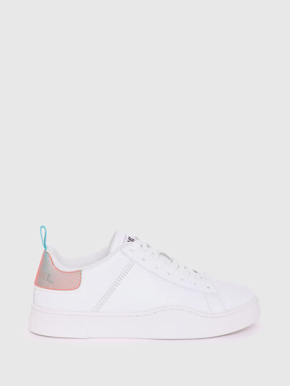 Diesel - S-CLEVER LOW LACE W, Weiss/Blau - Sneakers - Image 1
