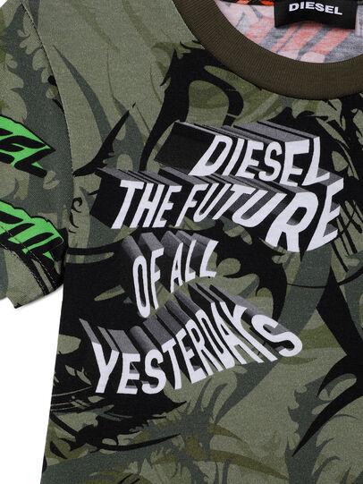 Diesel - TESEOB-R, Armeegrün - T-Shirts und Tops - Image 3