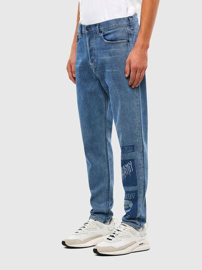Diesel - D-Vider 009GD, Mittelblau - Jeans - Image 4