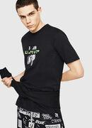 T-JUST-Y23, Schwarz - T-Shirts