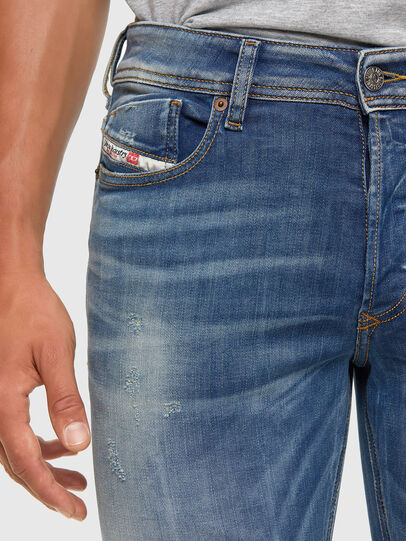 Diesel - Sleenker 009FC, Mittelblau - Jeans - Image 3