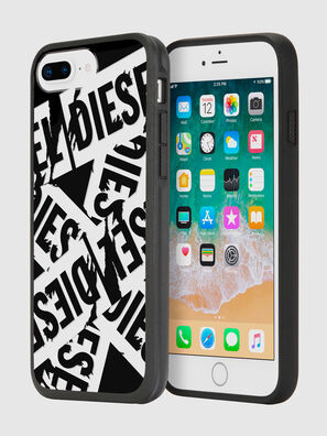 MULTI TAPE BLACK/WHITE IPHONE 8 PLUS/7 PLUS/6S PLUS/6 PLUS CASE,  - Schutzhüllen