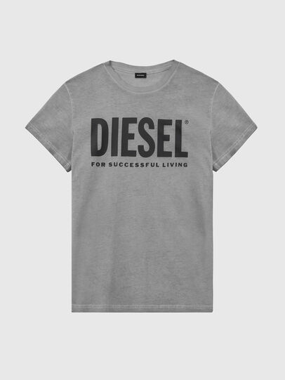 Diesel - T-SILY-WX, Dunkelgrau - T-Shirts - Image 1