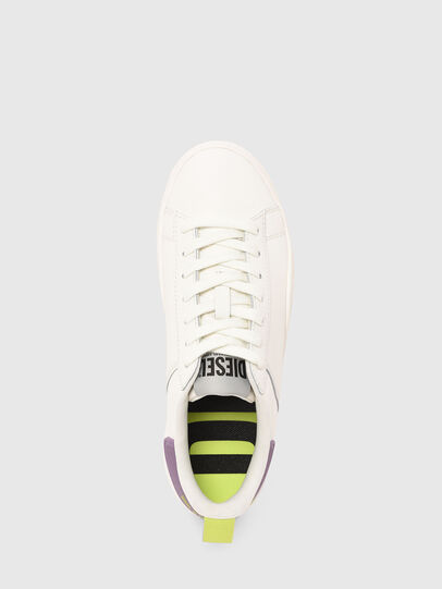 Diesel - S-CLEVER LOW LACE W, Weiss/Violett - Sneakers - Image 5