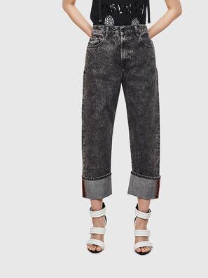 D-Reggy 0099F, Schwarz/Dunkelgrau - Jeans