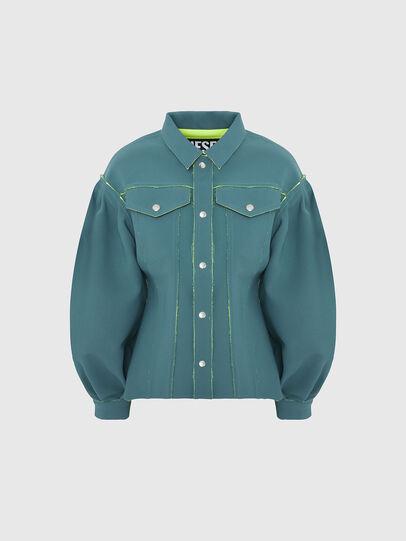 Diesel - G-ALBA, Wassergrün - Jacken - Image 1