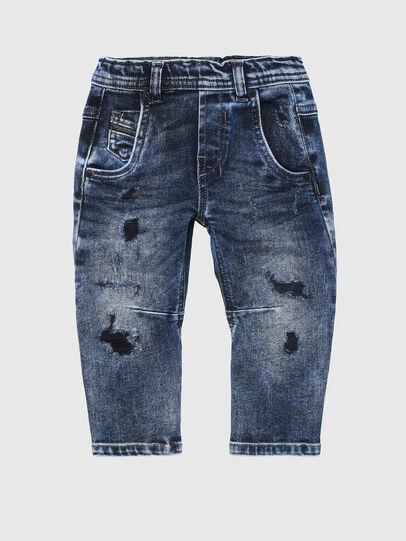 Diesel - FAYZA-B-N JOGGJEANS, Mittelblau - Jeans - Image 1