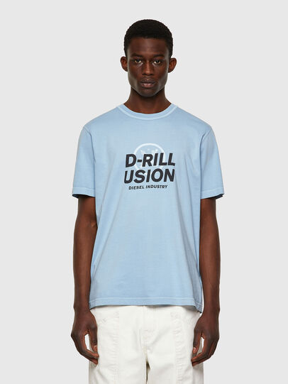 Diesel - T-JUBINDY, Hellblau - T-Shirts - Image 1