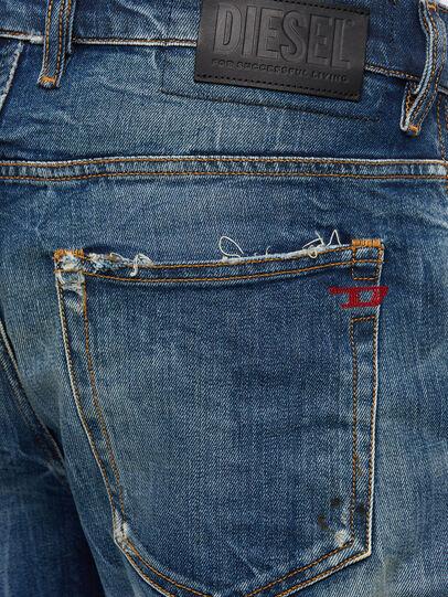 Diesel - D-Vider 009KG, Dunkelblau - Jeans - Image 6