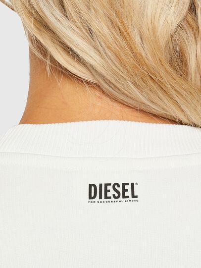 Diesel - F-ANG-R10, Weiß - Sweatshirts - Image 3
