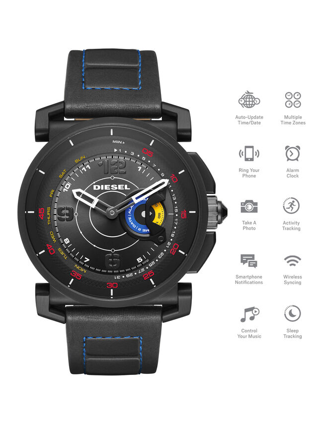 Diesel - DT1001, Schwarz - Smartwatches - Image 1