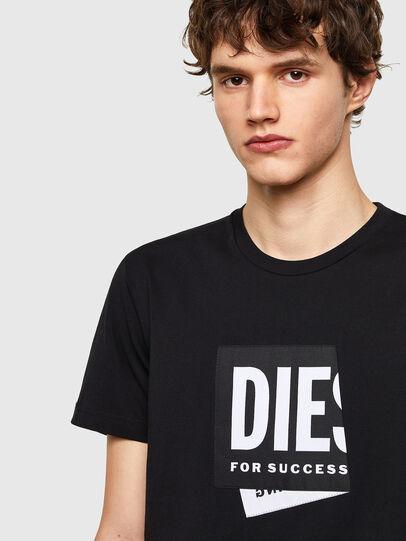 Diesel - T-DIEGOS-LAB, Schwarz - T-Shirts - Image 3