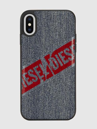 Diesel - VINTAGE DENIM IPHONE X CASE,  - Schutzhüllen - Image 2