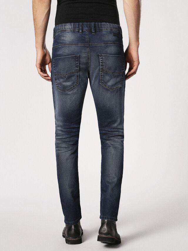 Diesel Krooley JoggJeans 0683Y, Dunkelblau - Jeans - Image 3