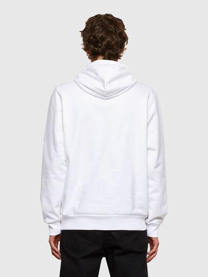 Diesel - S-GIRK-HOOD-SMALLOGO, Weiß - Sweatshirts - Image 2