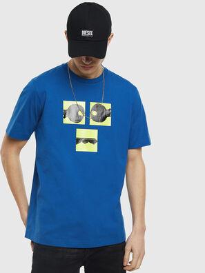 T-JUST-T23, Blau - T-Shirts