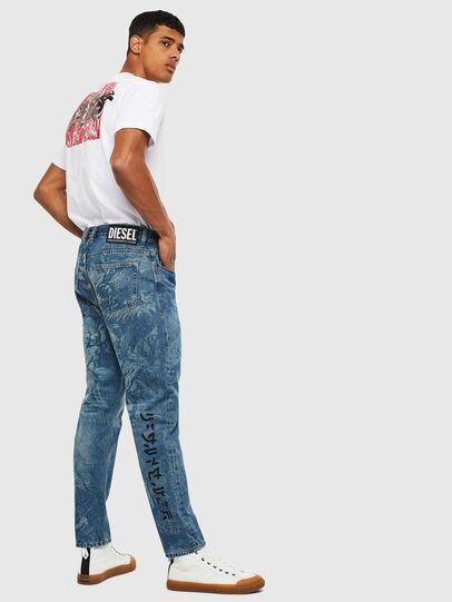 Diesel - D-Vider 0079D, Mittelblau - Jeans - Image 7