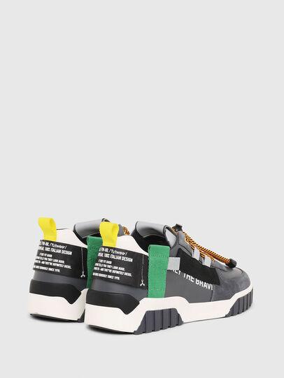 Diesel - S-RUA LOW SP, Grau - Sneakers - Image 3