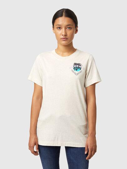 Diesel - T-LILLY-B1, Weiß - T-Shirts - Image 1