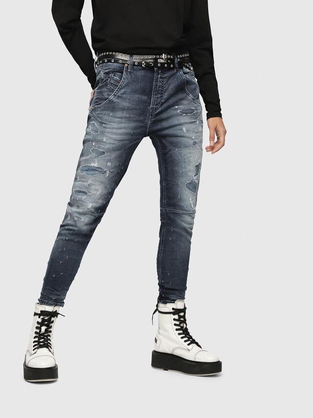 Diesel - Fayza JoggJeans 069CC, Dunkelblau - Jeans - Image 1