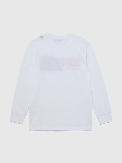Diesel - TDIEGOCUTY ML, Weiß - T-Shirts und Tops - Image 2