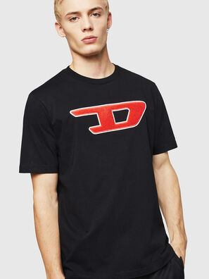 T-JUST-DIVISION-D, Schwarz - T-Shirts