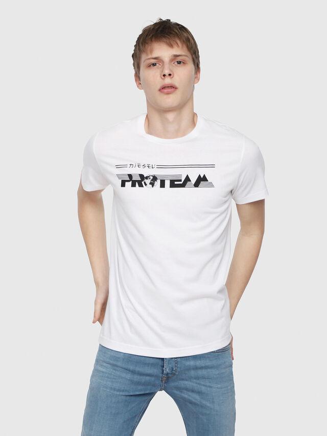 Diesel - T-DIEGO-YB, Weiß - T-Shirts - Image 1