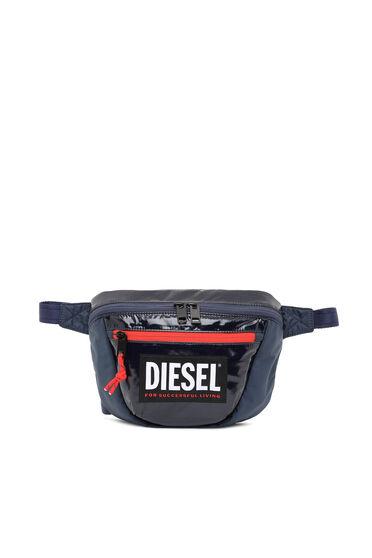 Crossbody-Tasche aus Ripstop mit kontrastfarbenem Reißverschluss