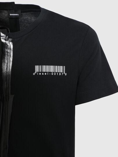 Diesel - T-JUBBY, Schwarz - T-Shirts - Image 4