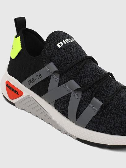 Diesel - S-KB WEB LACE, Schwarz/Blau - Sneakers - Image 4