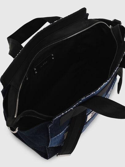 Diesel - F-CAORLY SATCHEL M, Blau - Satchel Bags und Handtaschen - Image 7