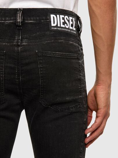 Diesel - D-REEFT JoggJeans® 009FY, Schwarz/Dunkelgrau - Jeans - Image 5