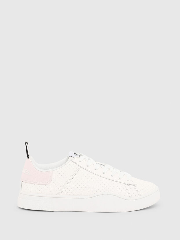 S-CLEVER LOW LACE W, Weiß/Rosa - Sneakers